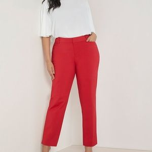 NEW Eloquii Pants Kady Fit Double Weave 20 V
